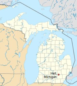Hell Michigan