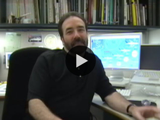 John Grimwade, Director of Information Graphics at Conde Nast Traveler