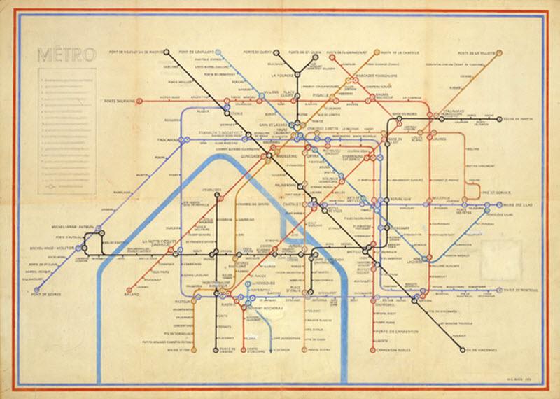 DataViz History: Henry Beck and the London Underground Tube Map ...