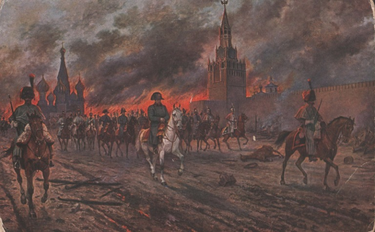 Burning of Moscow