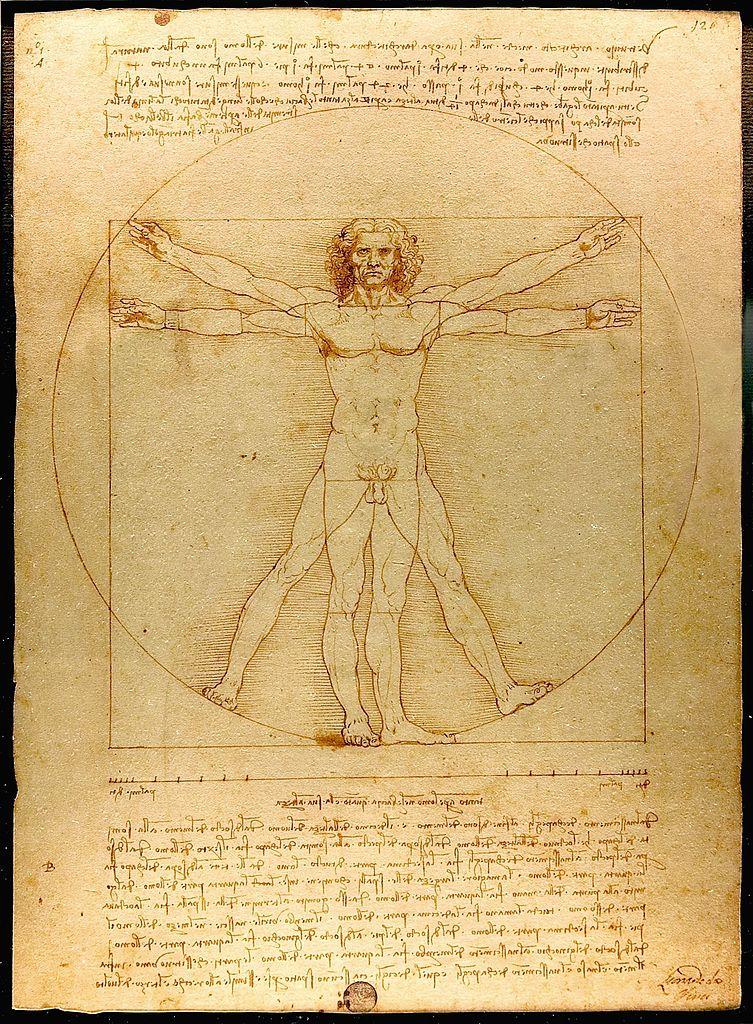 Leonardo da Vinci's Vitruvian Man
