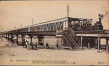 The Bordeaux bridge, Eiffel's first major work.