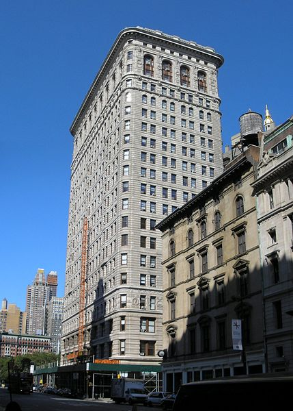Rear View of the Flatiron Building