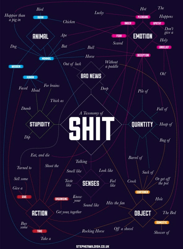 A Taxonomy of Shit