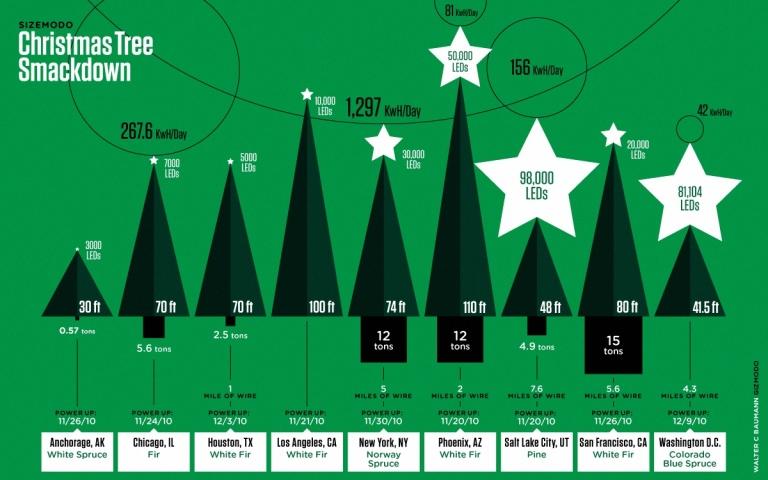 Christmas Tree Smackdown