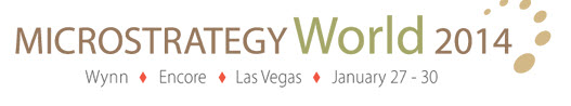 Click here to learn more about MicroStrategy World 2014
