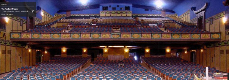 Redford Theatre - Inside