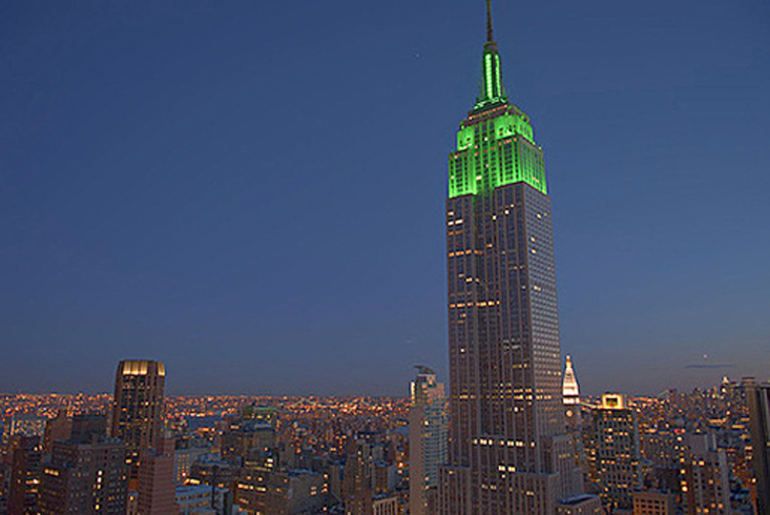 The Empire State Building at Night