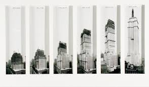 Phases of the construction of The Empire State Building