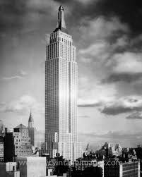 B&W Empire State Building