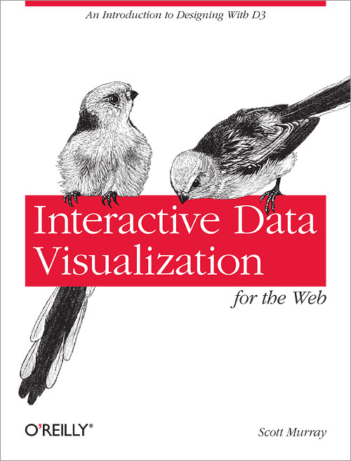 Interactive Data Visualization for the Web Book Cover