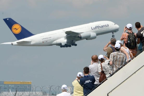 Paying Up for Space - Lufthansa