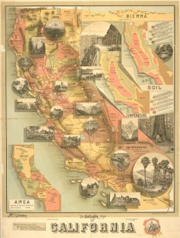 Map - California