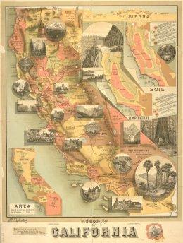 Map - California