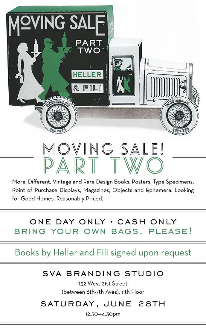 Daily Heller Moving Sale