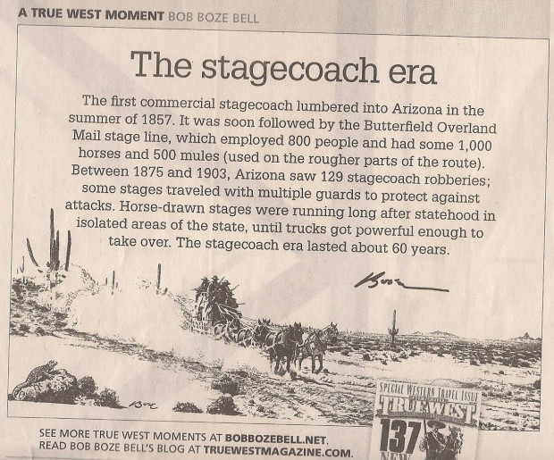 Bob Boze Bell - The Stagecoach Era