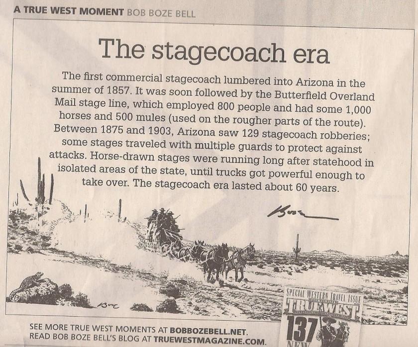Bob Boze Bell - The Stagecoach Era