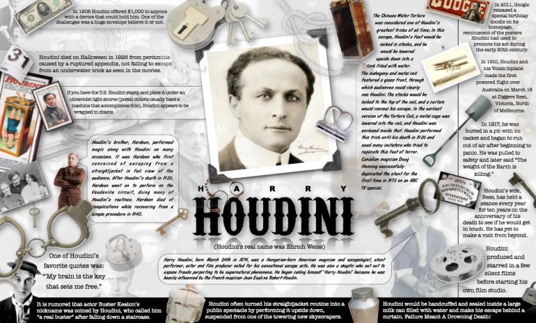 Houdini Infographic
