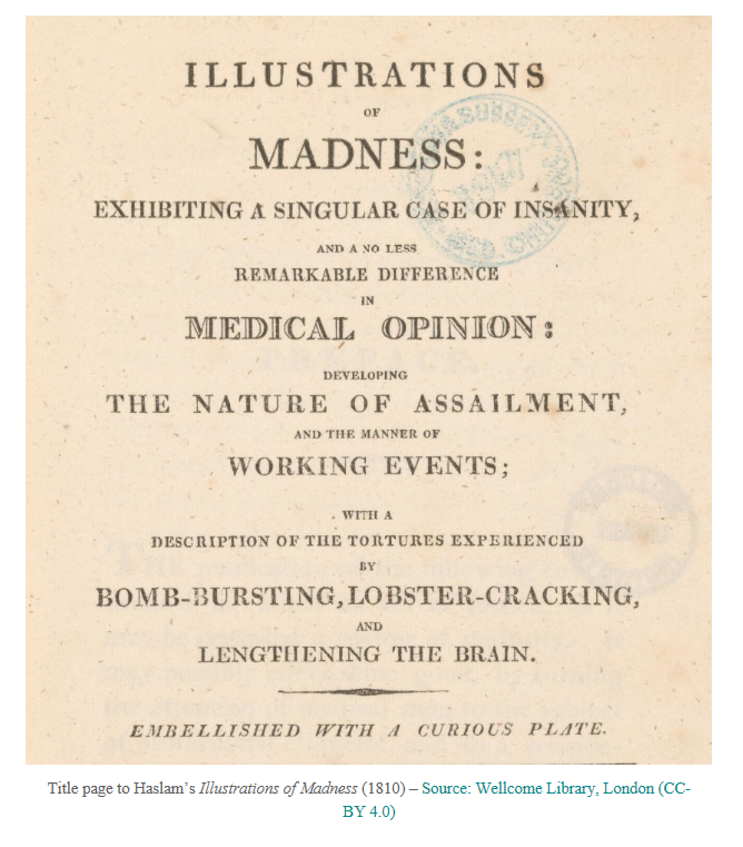 Illustrations of Madness - Title Page
