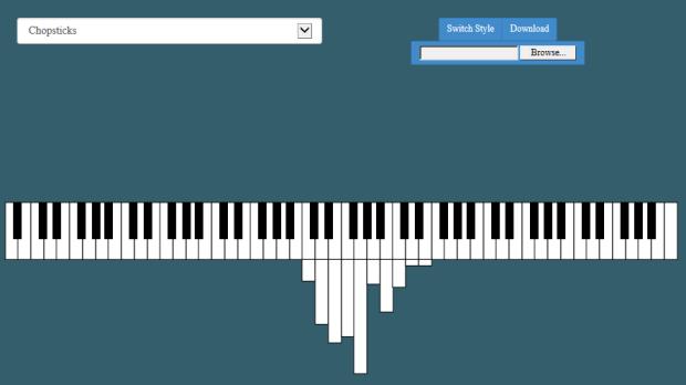 Pianogram - Chopsticks