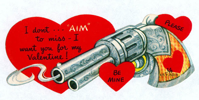 Funny Valentine Cards - Meat and Weapons (25)