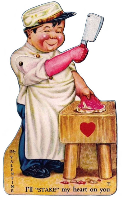 Funny Valentine Cards - Meat and Weapons (6)