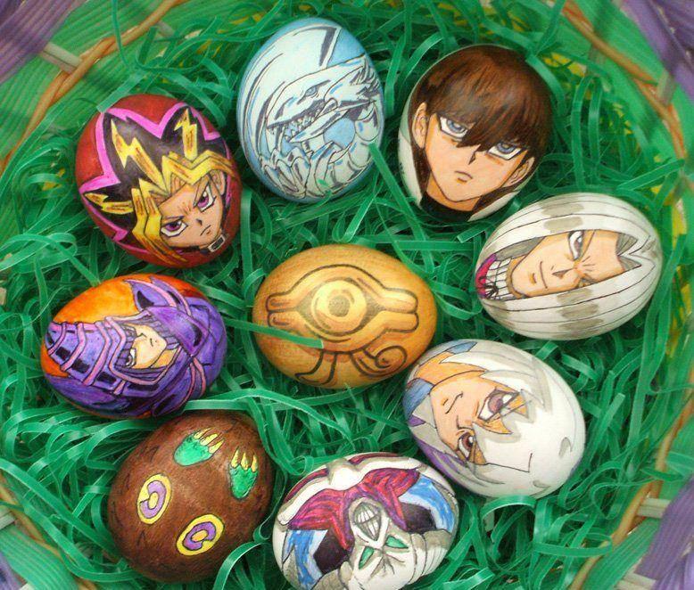 yu-gi-oh eggs