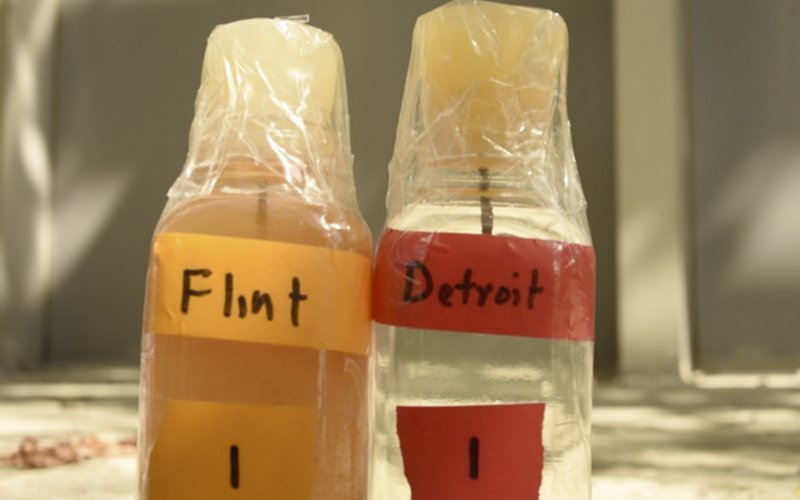 Flint vs. Detroit Water
