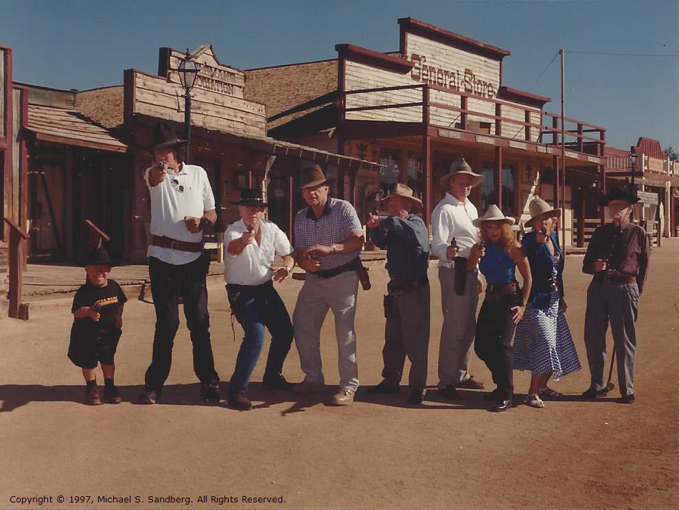 100 - Group Photo at Rawhide