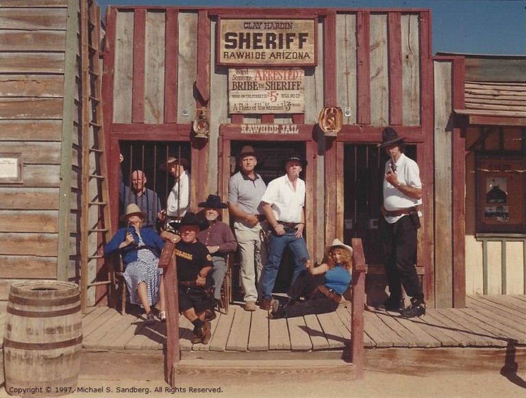 200 - Hanging Out at the Sheriff Office