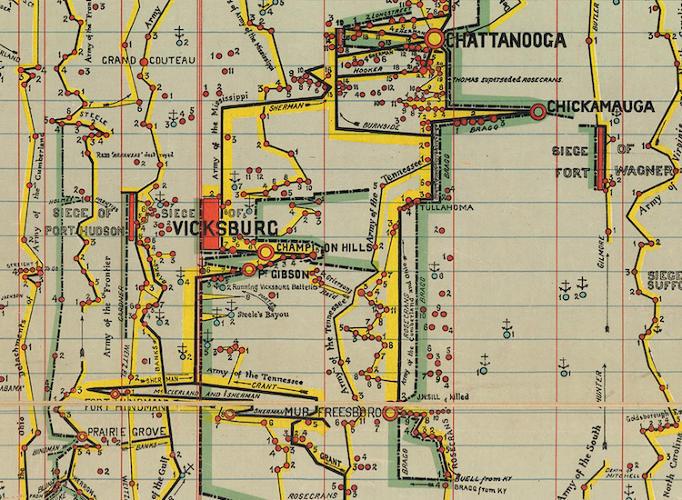 DataViz as Maps History of the Civil War United States Michael