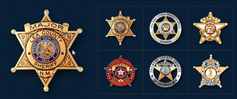 SymbolArts Sherif Badges