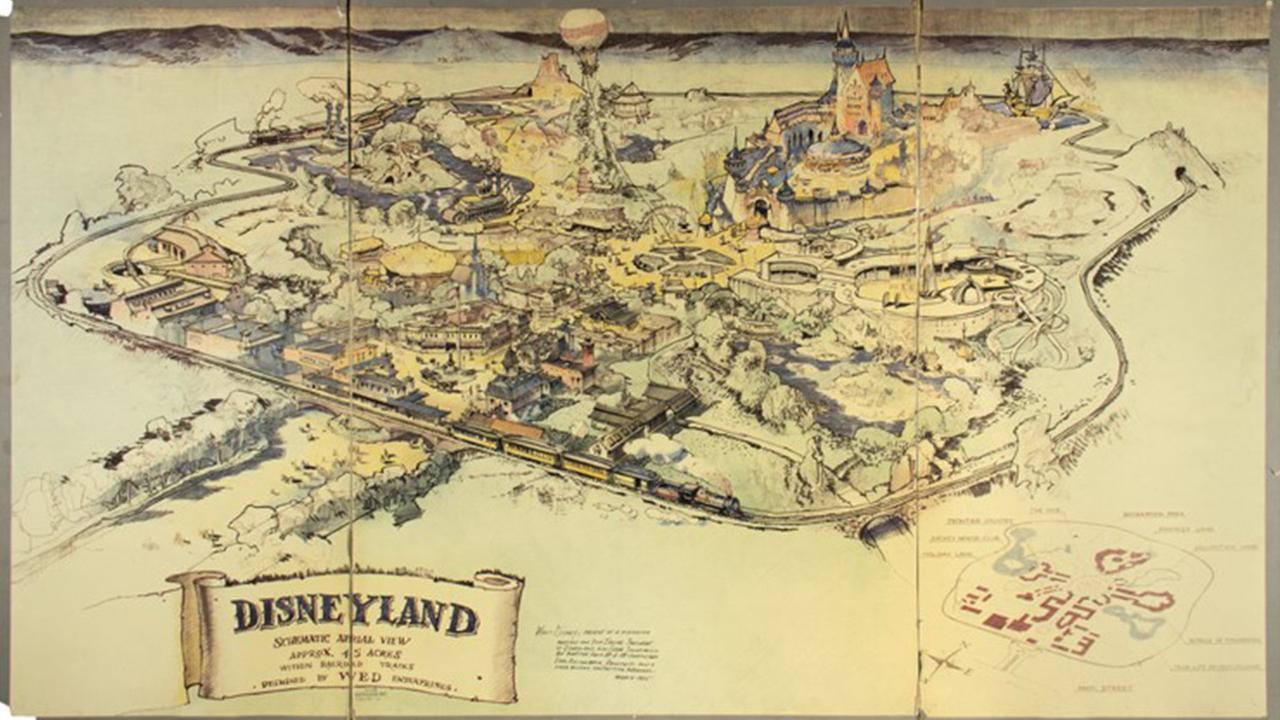 1953_Disneyland_Presentation_Map