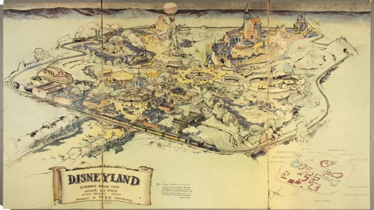 1953_Disneyland_Presentation_Map