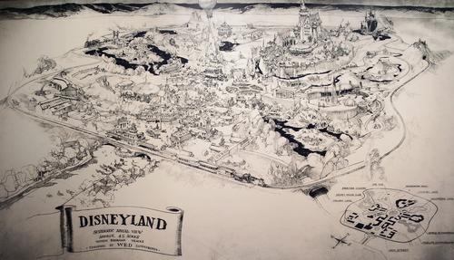 1953_Disneyland_Presentation_Map_Pencil1