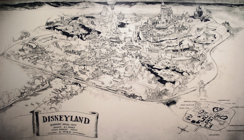 1953_Disneyland_Presentation_Map_Pencil1