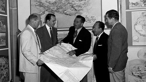 1953_Disneyland_Presentation_Map_Walt