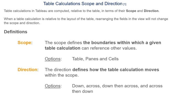 Table Calculations - Slide 3