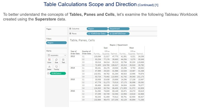 Table Calculations - Slide 5