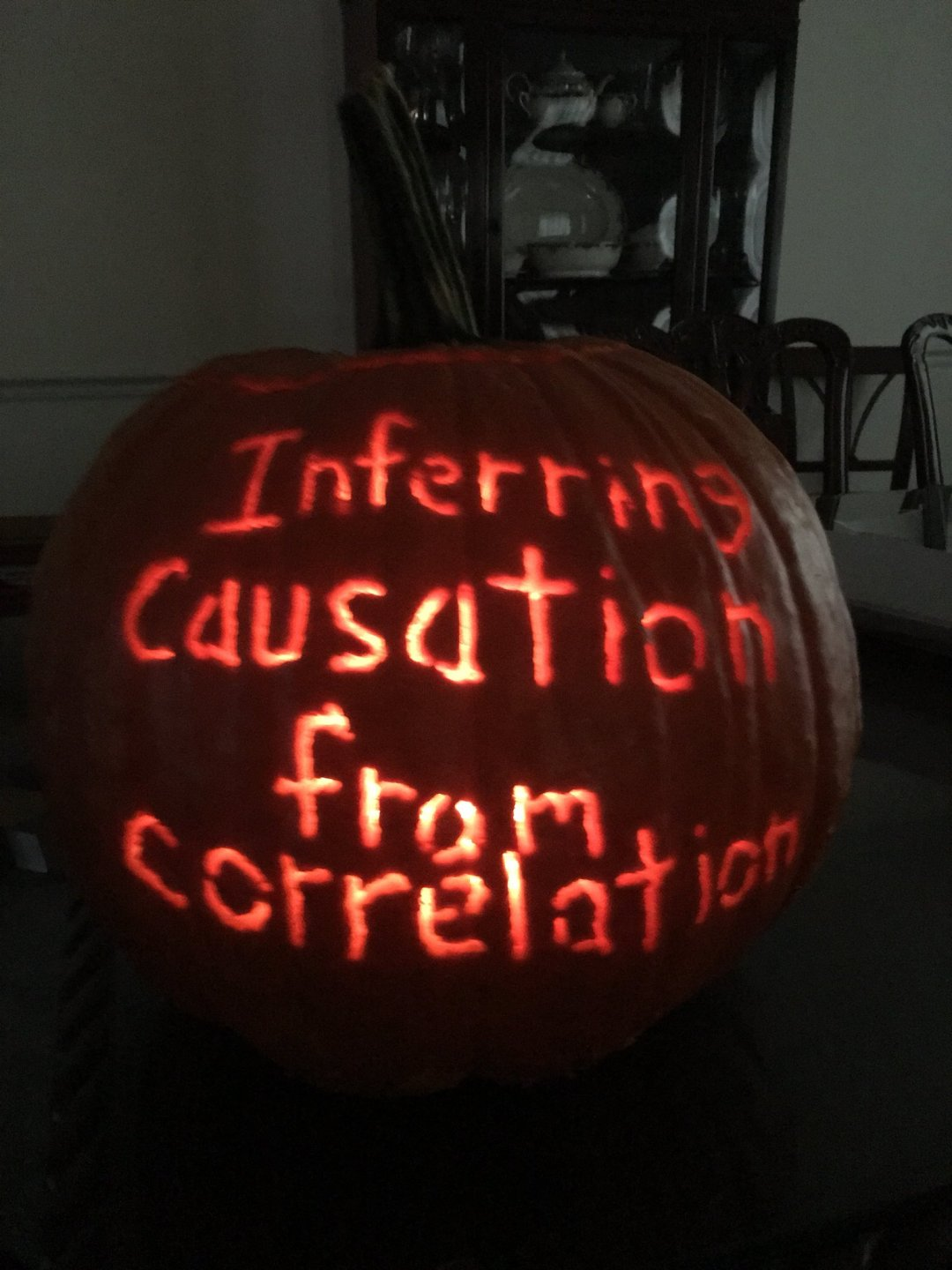 Inferring causation from correlation