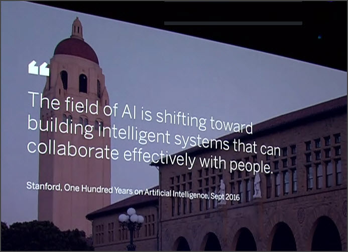 Stanford AI Quote