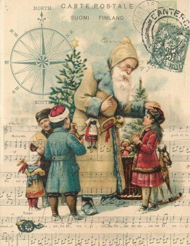 7c3f8fb50e9d7e2bb0334c4f54c0df24--christmas-postcards-vintage-christmas-cards