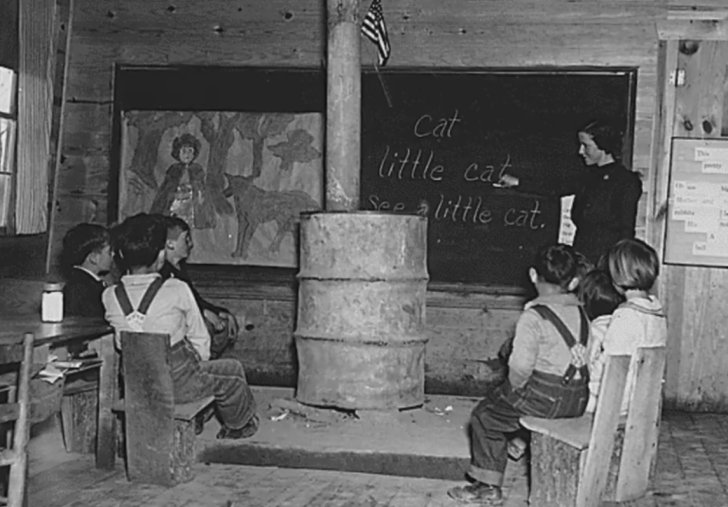 Alabama School House - 1935