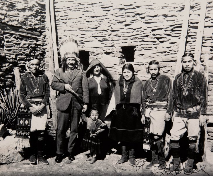 Albert Einstein at Grand Canyon - 1922