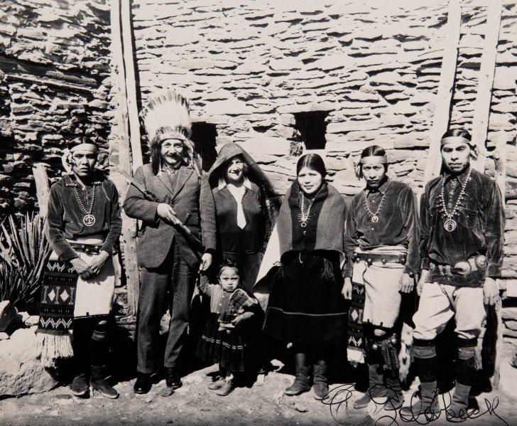 Albert Einstein at Grand Canyon - 1922