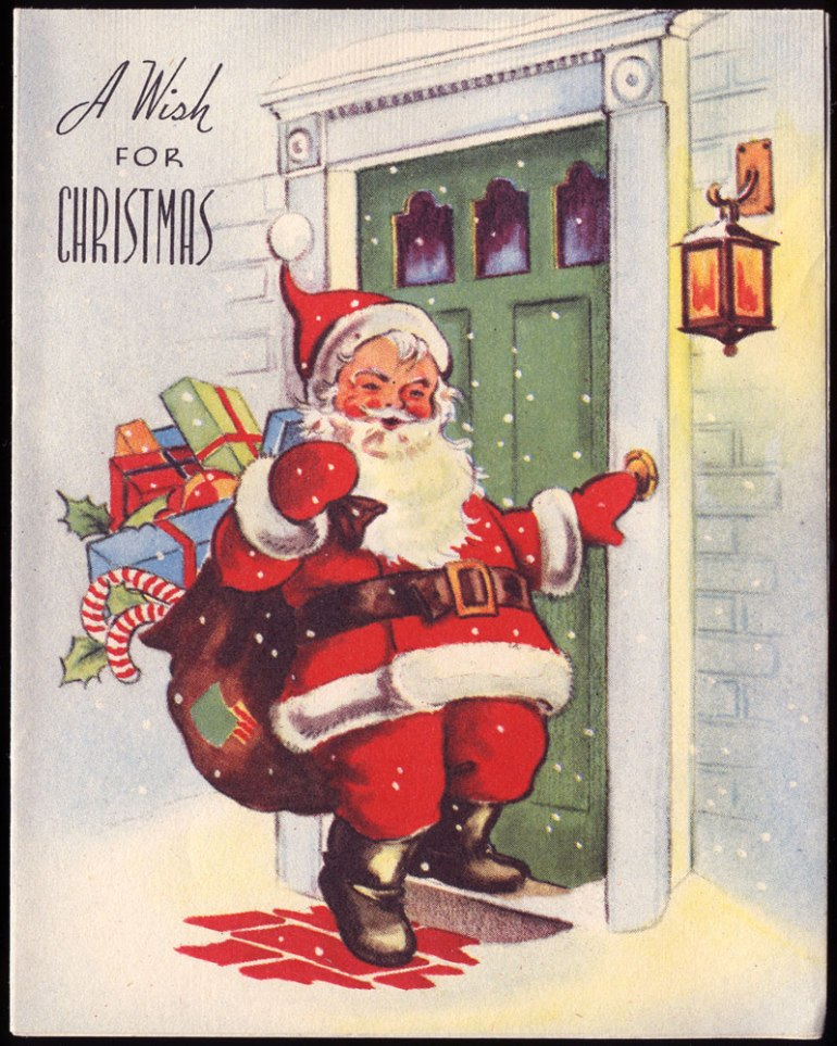 Antique-Christmas-Santa-Postcards-and-Vintage-Illustrations-5