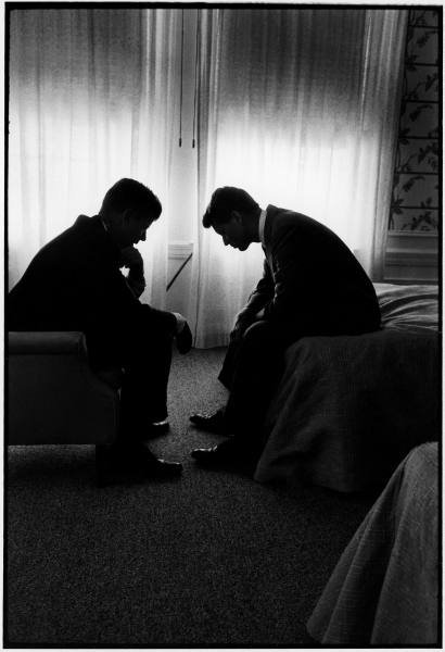 JFK and Bobby - 1960