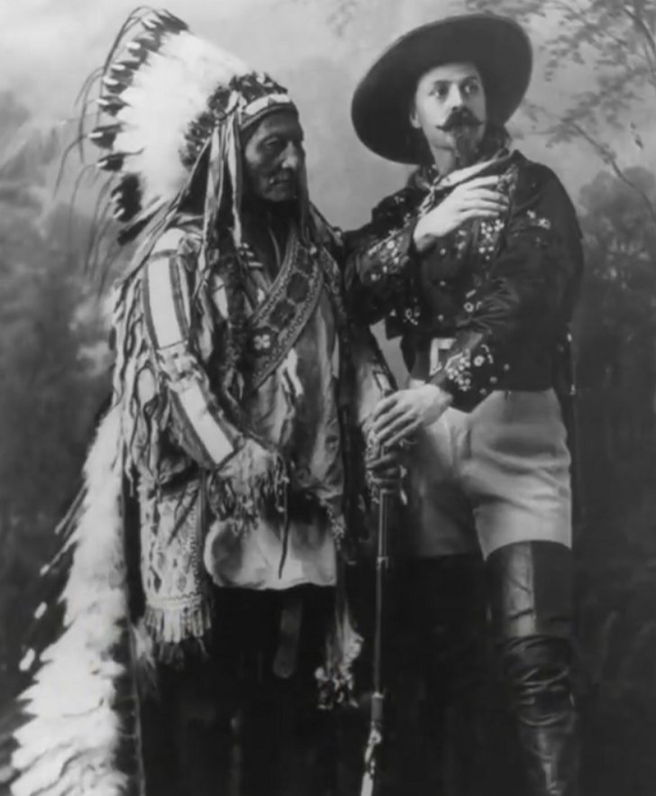 Sitting Bull and Buffalo Bill - 1885