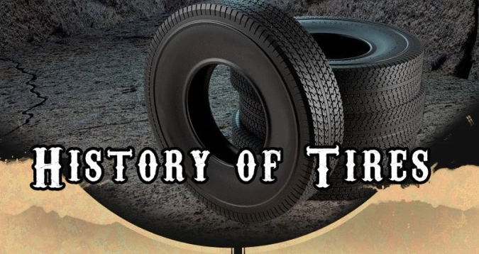 Who Invented The Automobile >> Infographic: History of Tires | Michael Sandberg's Data ...