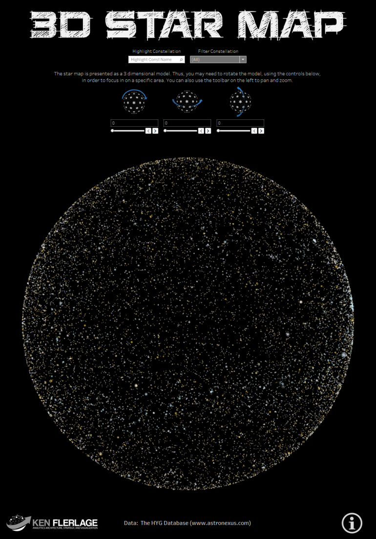 3D Star Map